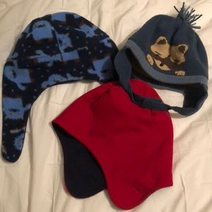 Other - Trio of 2-4T winter hats, boy